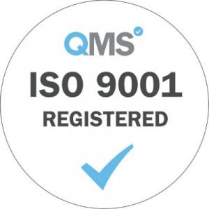 ISO 9001 Registered - White small v2